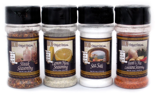 Formerly Perfect Portions Gourmet All Natural Seasoning Pack w/ Sea Salt