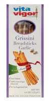 All Natural Garlic Grissini Breadsticks (Case of 12)