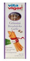 All Natural Garlic Grissini Breadsticks (Case of 12)