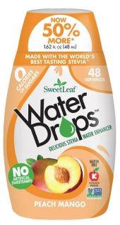 Peach Mango Stevia Water Drops