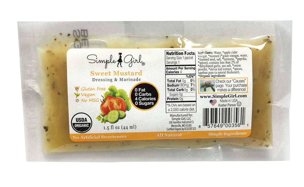 Sweet Mustard Packet
