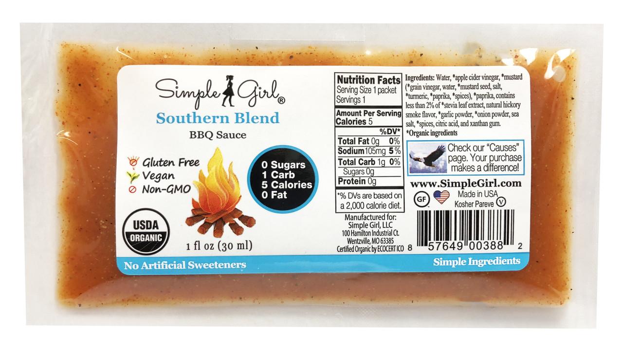 Southern Blend BBQ Sauce Packet