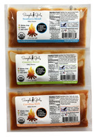 Single serve BBQ packets are available in Carolina Kick BBQ sauce , Country Sweet BBQ sauce, and Southern Blend BBQ sauce .