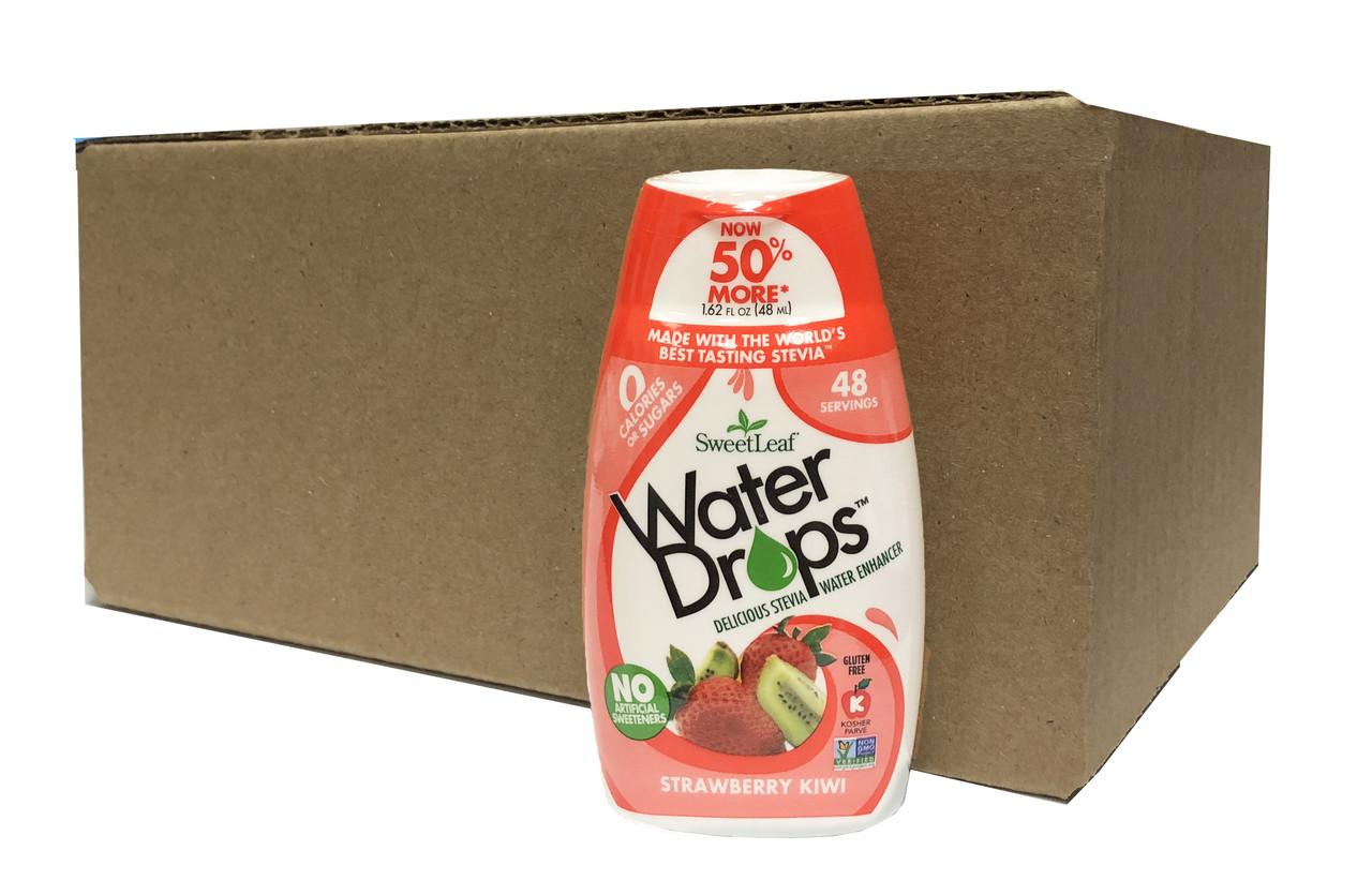 Organic Strawberry Kiwi Sweetleaf Sweet Drops (case of 12)