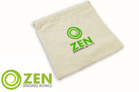 Zen Singing Bowls Large Natural Cotton Bag
