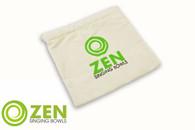 Zen Singing Bowls Small Natural Cotton Bag