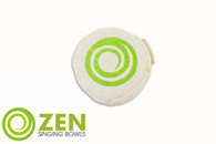 Zen Singing Bowls Small Natural Cotton and Buckwheat Cushion