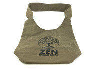 Zen Singing Bowls Khaki Shoulder Bag