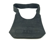 Zen Singing Bowls Black Shoulder Bag