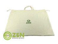 Zen Singing Bowls XXXL Grounding Bowl Natural Cotton Bag