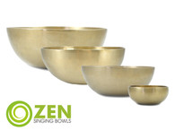 "Therapeutic Series Zen Singing Bowl Group (VST set) 11.25"", 9"", 8.5"", 4.75"" ztg5"