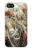 S0122 Yakuza Tattoo Case Cover For IPHONE 5 5s SE