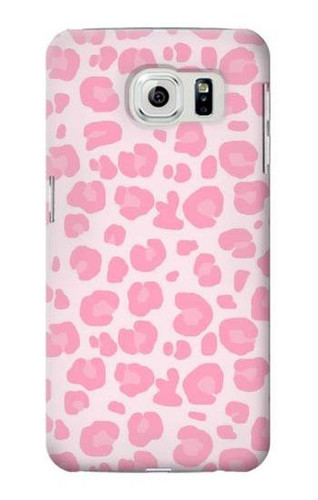 S2213 Pink Leopard Pattern Case For Samsung Galaxy S6 Edge