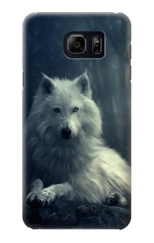 S1516 White Wolf Case For Galaxy S6 Edge Plus