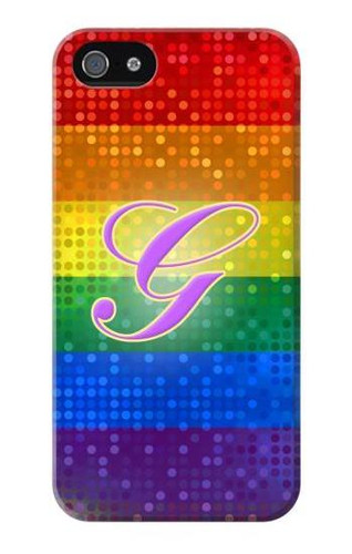 S2899 Rainbow LGBT Gay Pride Flag Case For IPHONE 5 5s SE