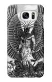 S1235 Aztec Warrior Case For Samsung Galaxy S7