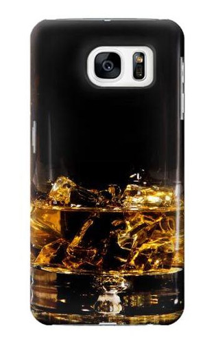 S2742 Ice Whiskey Whisky Glass Case For Samsung Galaxy S7