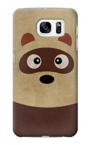 S2825 Cute Cartoon Raccoon Case For Samsung Galaxy S7