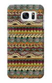 S2860 Aztec Boho Hippie Pattern Case For Samsung Galaxy S7