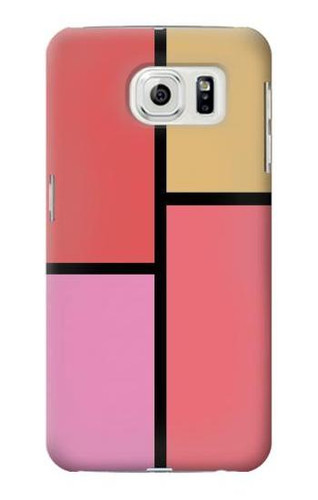 S2795 Cheek Palette Color Case For Samsung Galaxy S7 Edge