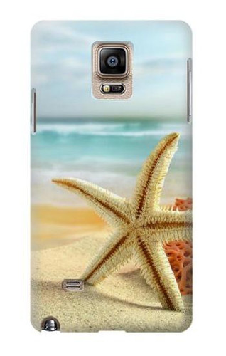 S1117 Starfish on the Beach Case Cover For Samsung Galaxy Note 4