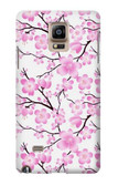 S1972 Sakura Cherry Blossoms Case For Samsung Galaxy Note 4