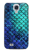 S3047 Green Mermaid Fish Scale Case For Samsung Galaxy S4