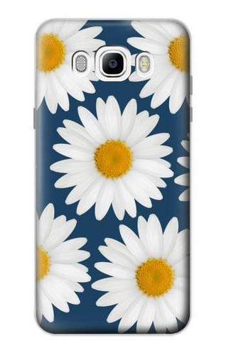 S3009 Daisy Blue Case For Samsung Galaxy J7 (2016)