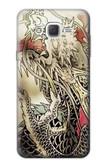 S0122 Yakuza Tattoo Case For Samsung Galaxy J7