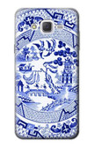 S2768 Willow Pattern Graphic Case For Samsung Galaxy J7
