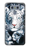 S0265 White Tiger Case For LG G6