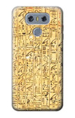 S1625 Egyptian Coffin Texts Case For LG G6