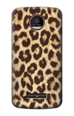 S2204 Leopard Pattern Graphic Printed Case For Motorola Moto Z Force, Z Play