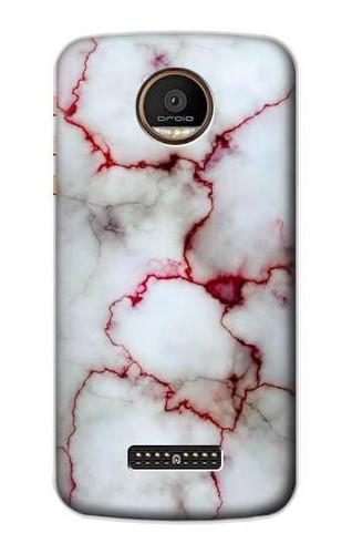 S2920 Bloody Marble Case For Motorola Moto Z Force, Z Play