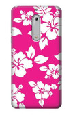 S2246 Hawaiian Hibiscus Pink Pattern Case For Nokia 5