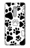 S2904 Dog Paw Prints Case For Nokia 5