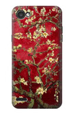 S2414 Red Blossoming Almond Tree Van Gogh Case For LG Q6