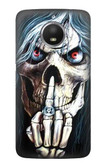 S0222 Skull Pentagram Case For Motorola Moto E4 Plus