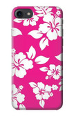 S2246 Hawaiian Hibiscus Pink Pattern Case For iPhone 8