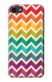 S2362 Rainbow Colorful Shavron Zig Zag Pattern Case For iPhone 8