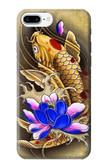 S1604 Carp Koi Fish Japanese Tattoo Case For iPhone 8 Plus