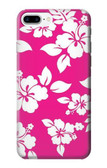 S2246 Hawaiian Hibiscus Pink Pattern Case For iPhone 8 Plus