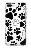 S2904 Dog Paw Prints Case For iPhone 8 Plus