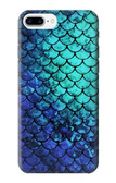 S3047 Green Mermaid Fish Scale Case For iPhone 8 Plus