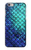 S3047 Green Mermaid Fish Scale Case For iPhone 6 6S