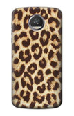 S2204 Leopard Pattern Graphic Printed Case For Motorola Moto Z2 Play, Z2 Force