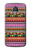 S2292 Aztec Tribal Pattern Case For Motorola Moto Z2 Play, Z2 Force