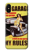 S3198 My Garage Pinup Girl Case For iPhone 8