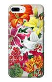 S3205 Retro Art Flowers Case For iPhone 8 Plus