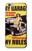 S3198 My Garage Pinup Girl Case For iPhone 6 6S